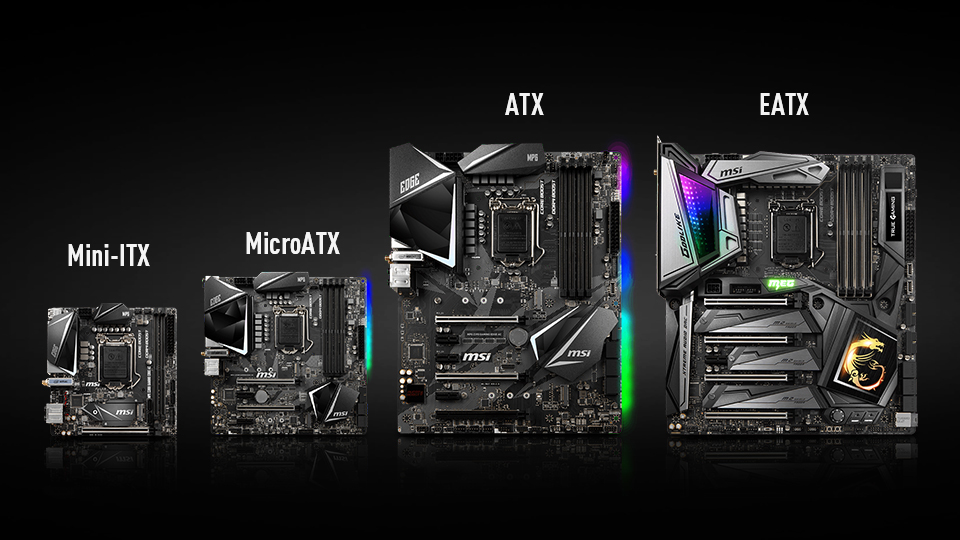 Motherboards for gaming PC